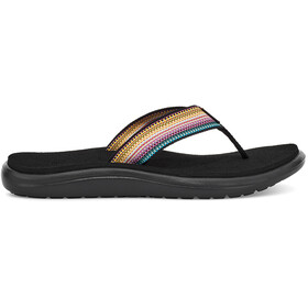 Teva Voya Flips Women, antiguous black multi